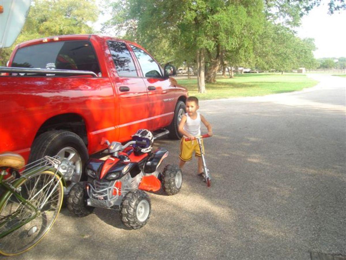 Bike rides Belton Lake TX
