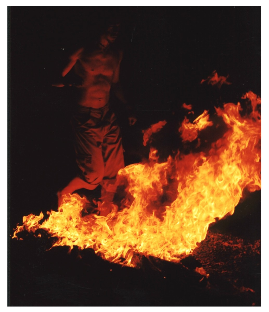 how to walk on hot coals