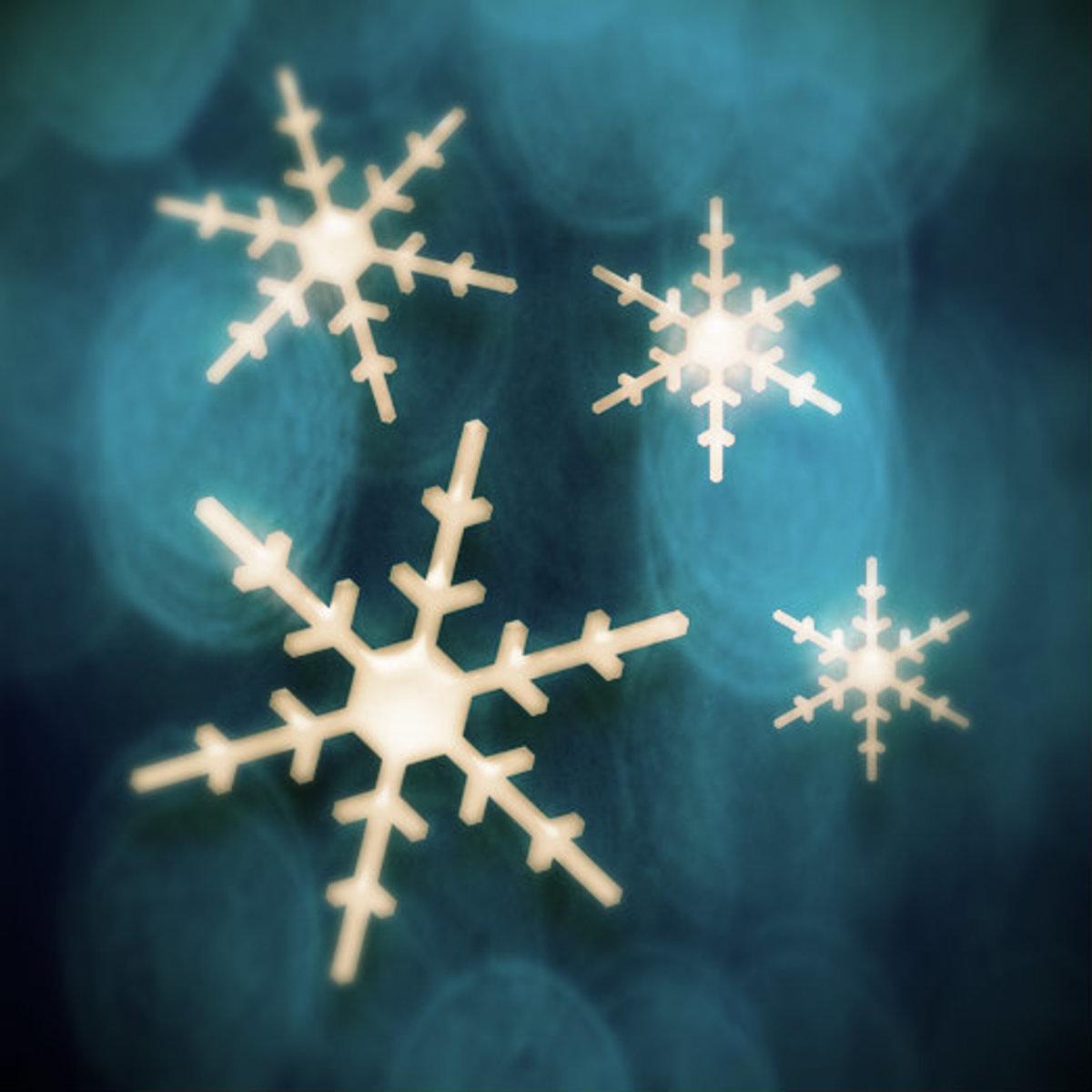 Winter Clip Art Snowflakes 1