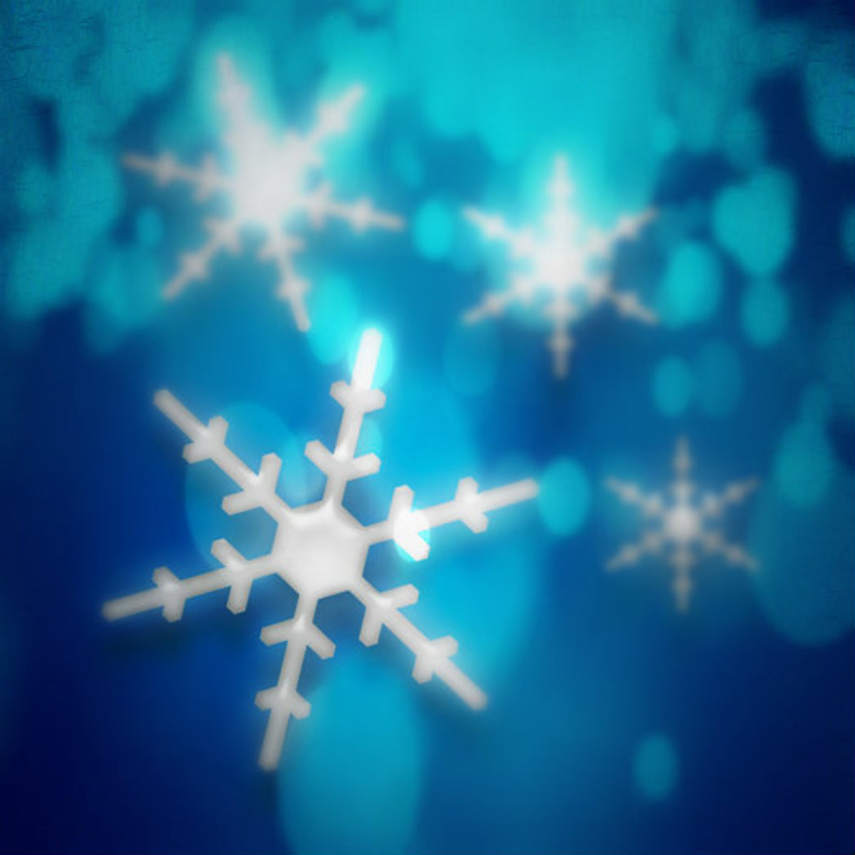 Winter Clip Art Snowflakes 4