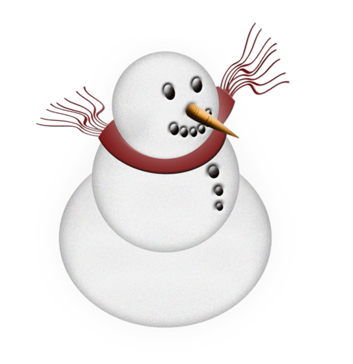 Free Winter Clip Art Images - Snowmen And Snowflakes