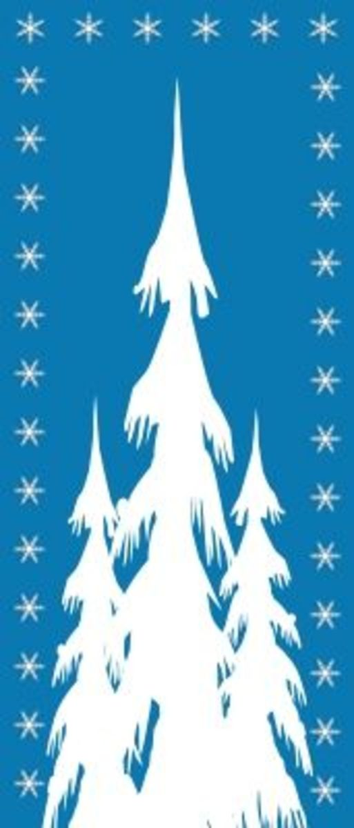 Clipart Winter Trees Free