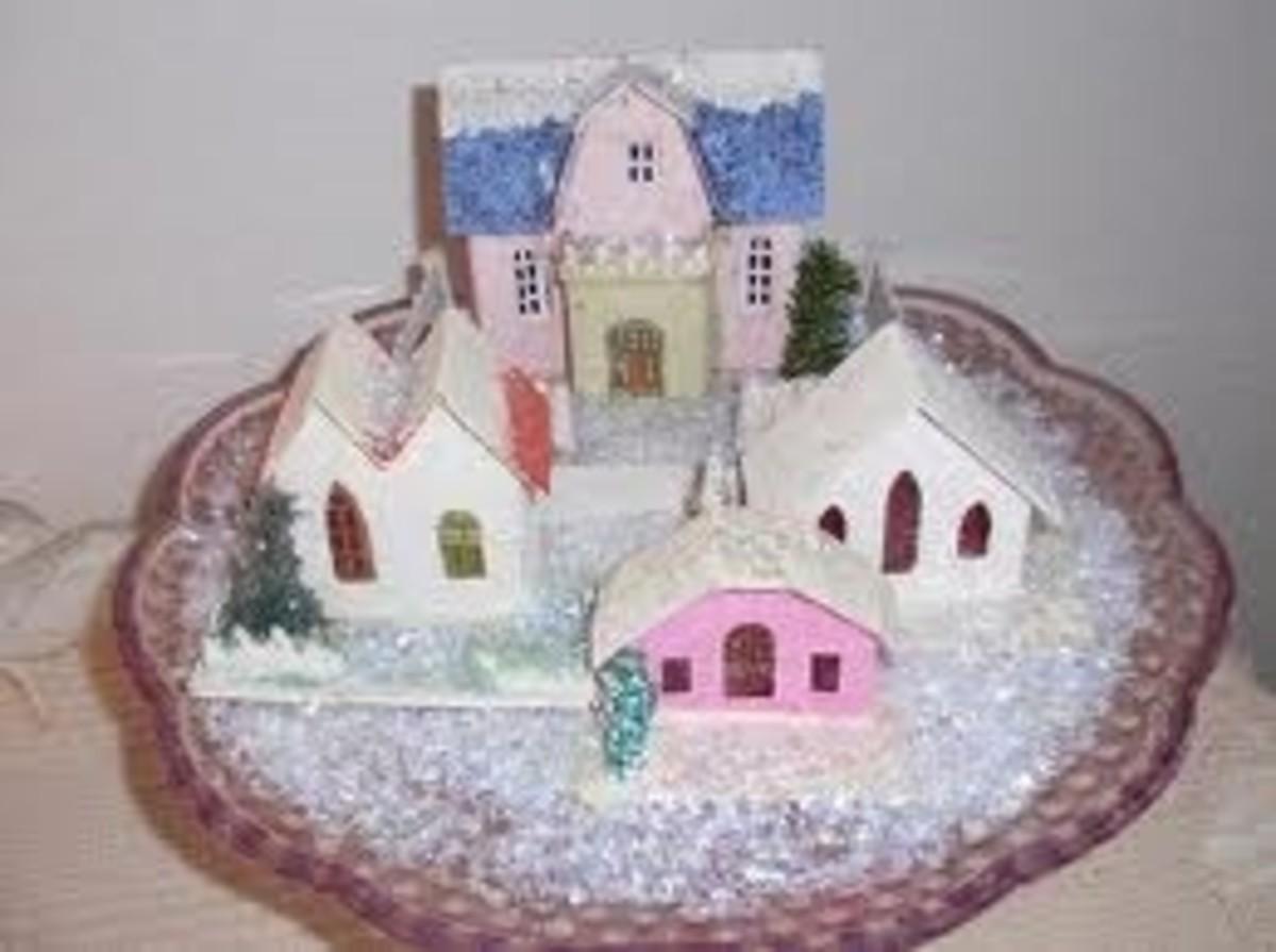 "Vintage Christmas Village or ""Putz"""