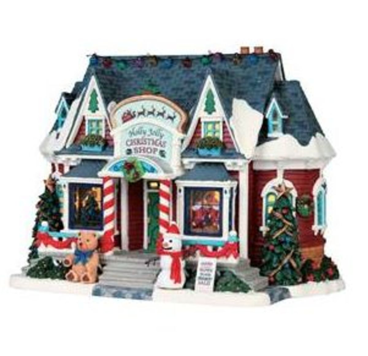 "Lemax Village - ""Holly Jolly Christmas Shop"""