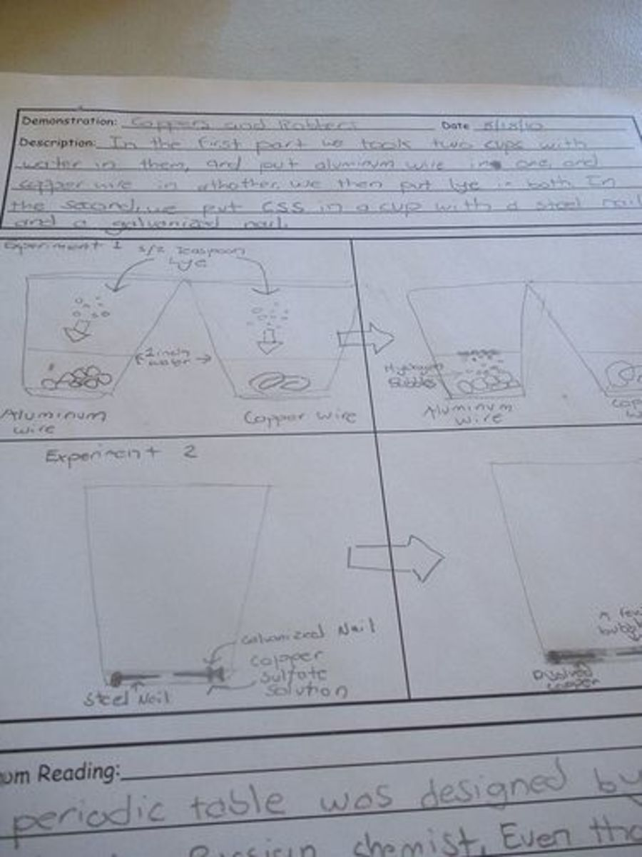 Science Labs Go On Notebook Pages With Notes