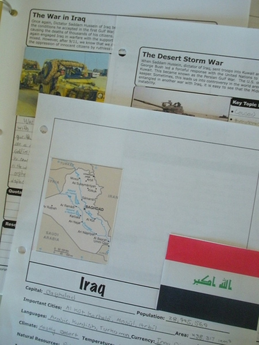 Modern History Notebook Pages-History Scholar and Geo Scribe