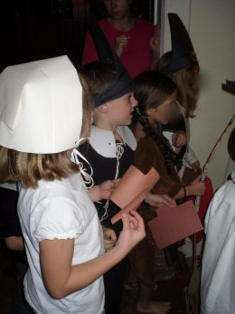 Children's Thanksgiving Play