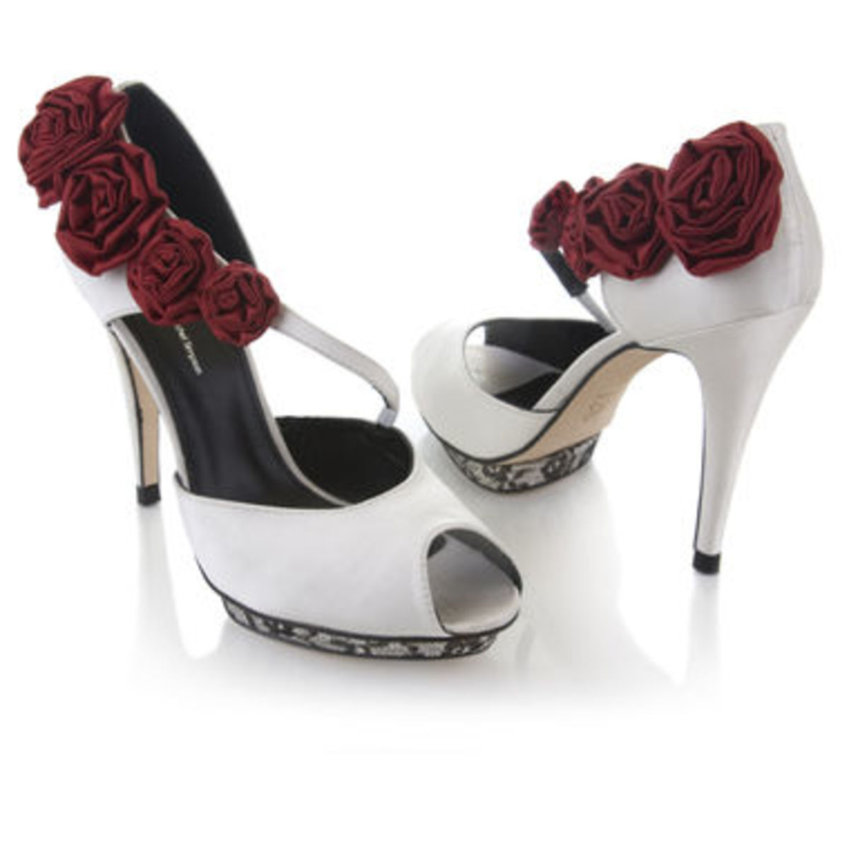Funky shoes for a funky bride!