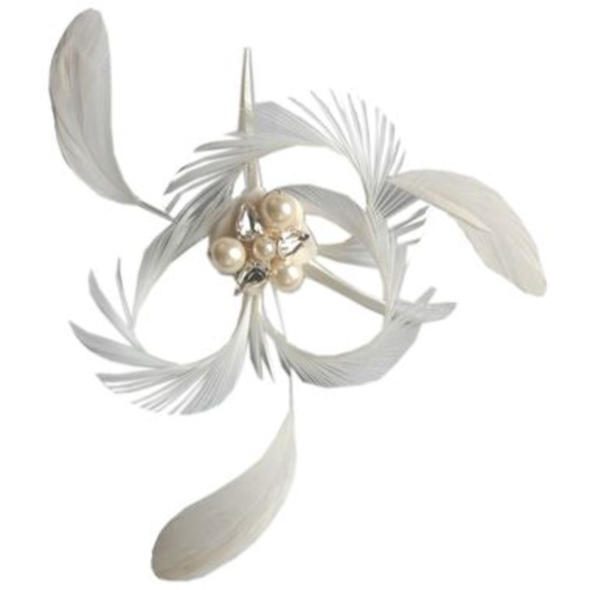 Ivory Coque Feather adds an elegant flair