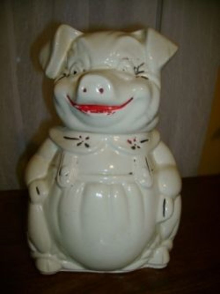 Love Vintage Cookie Jars?