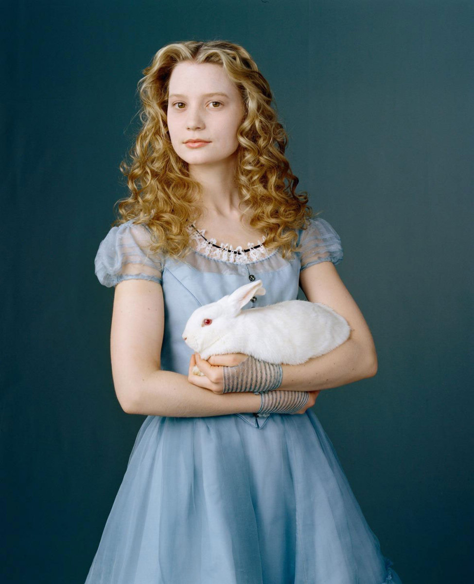 19-year old Alice in Tim Burton's Alice in Wonderland (2010)