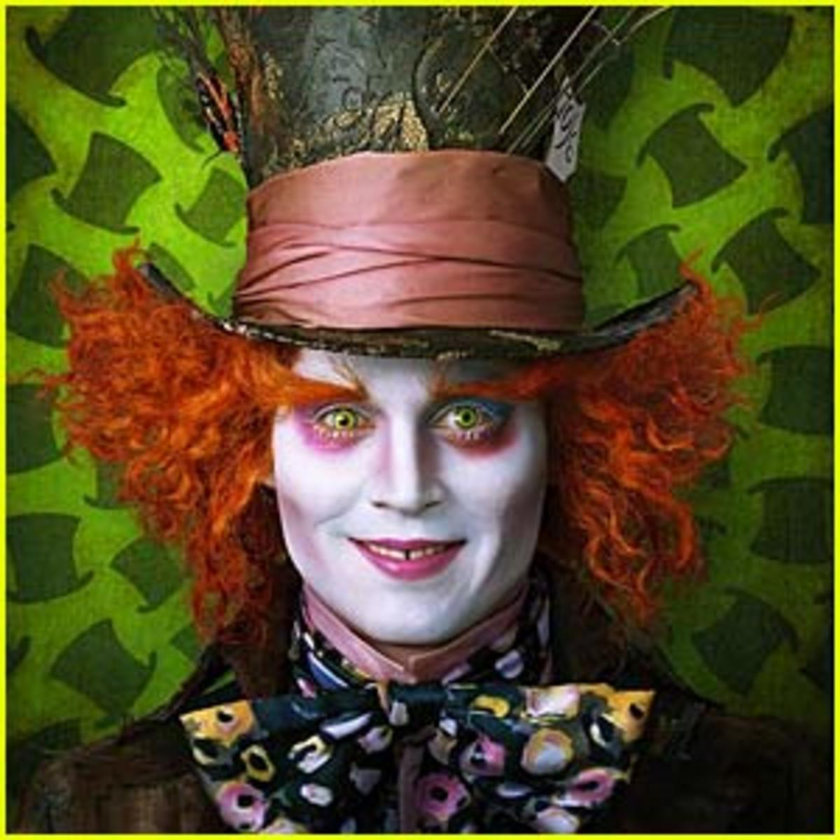 The Mad Hatter starring Johnny Depp
