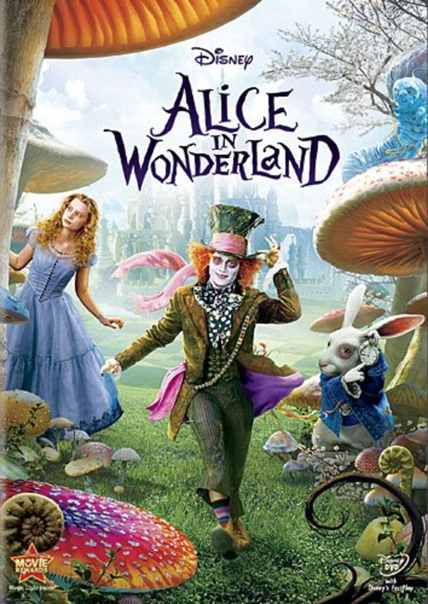- Tim Burton's Alice in Wonderland (2010) -