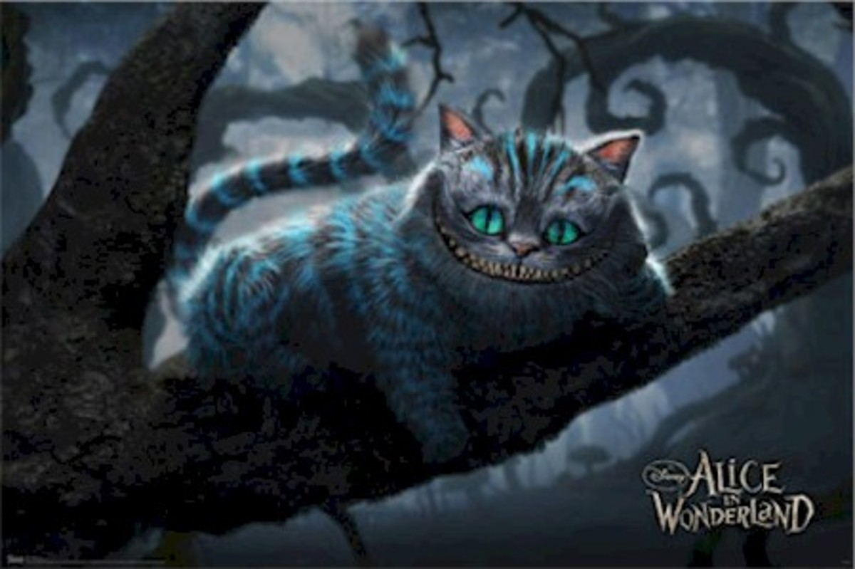 Cheshire Cat in Alice in Wonderland 2010
