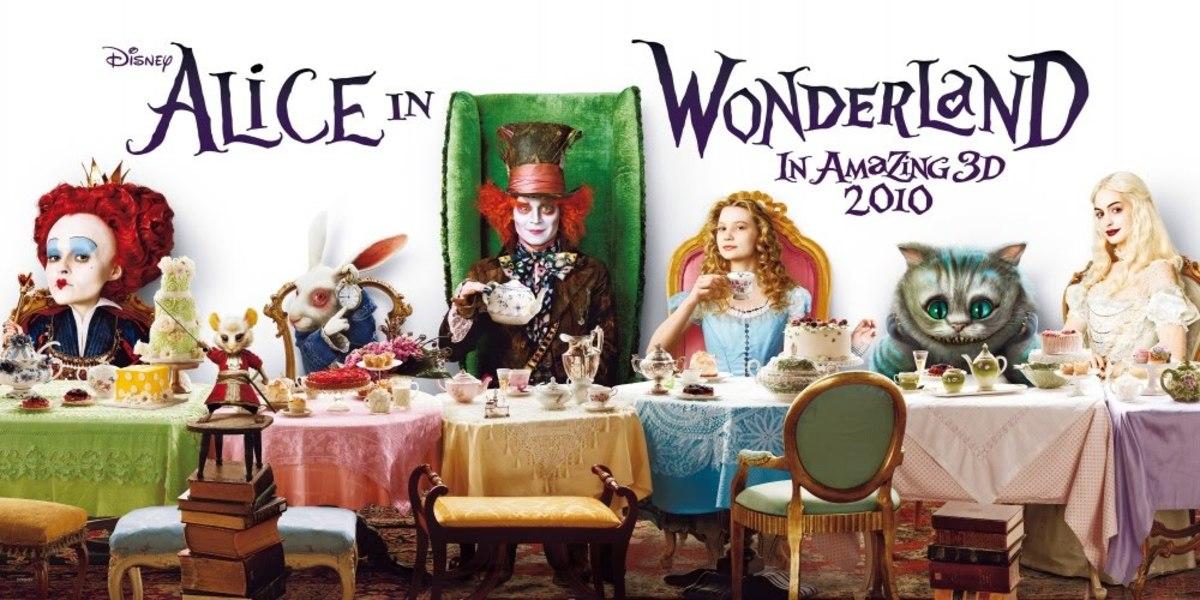 Tim Burton's Alice in Wonderland (2010)