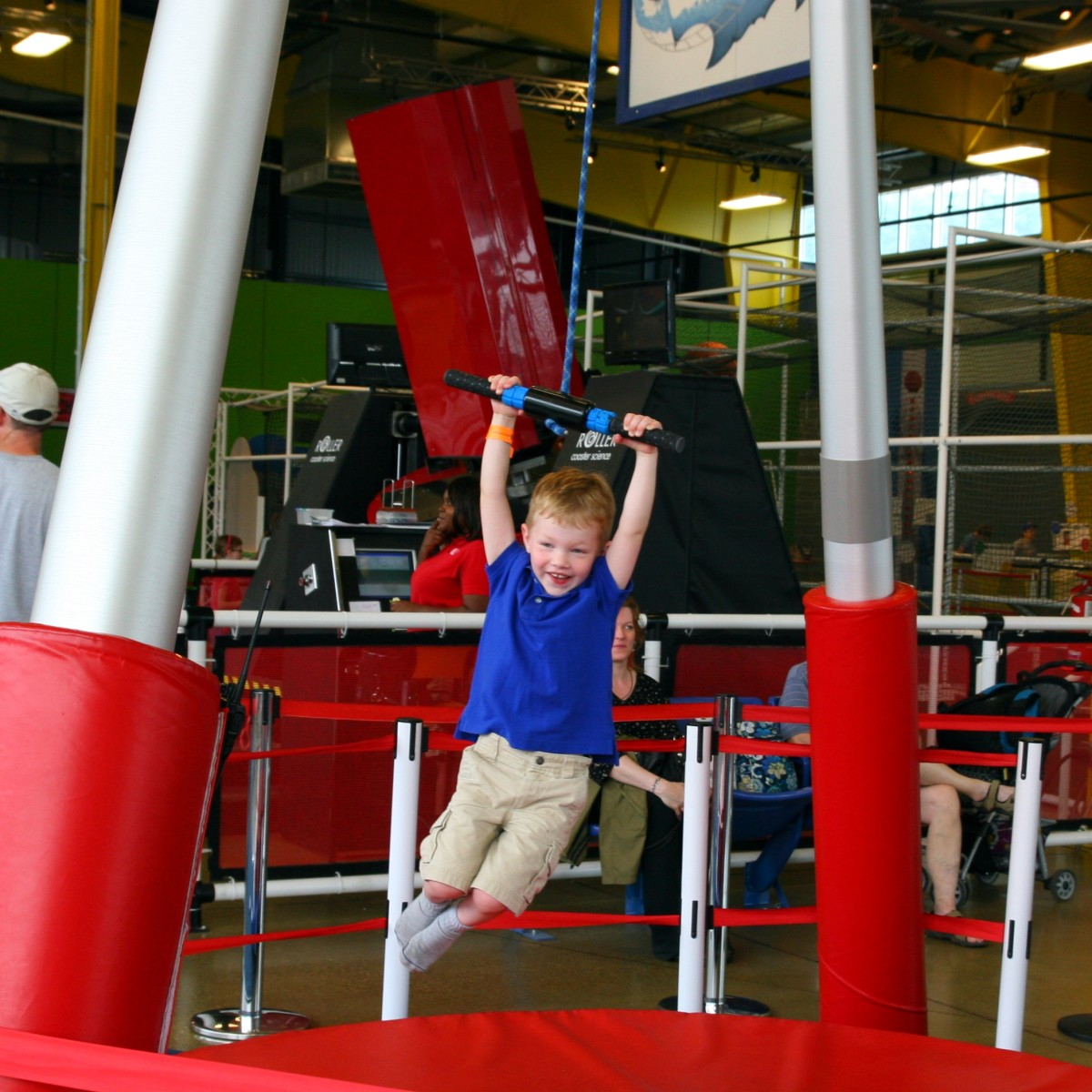 "Riding the ""You-Yo"" at the Science Center"