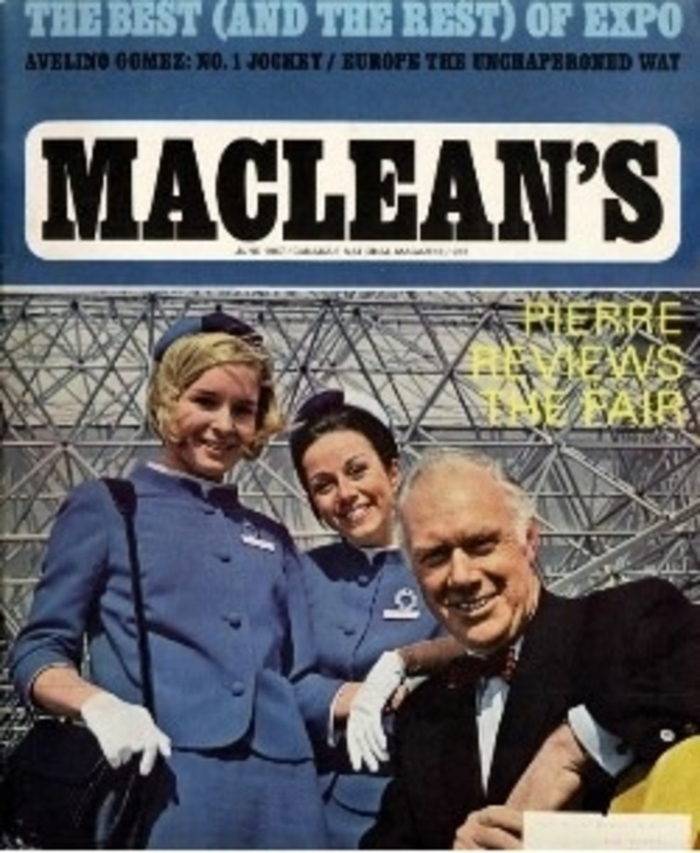 In the June 1967 edition of Maclean's magazine, Pierre Berton reviewed Expo 67.