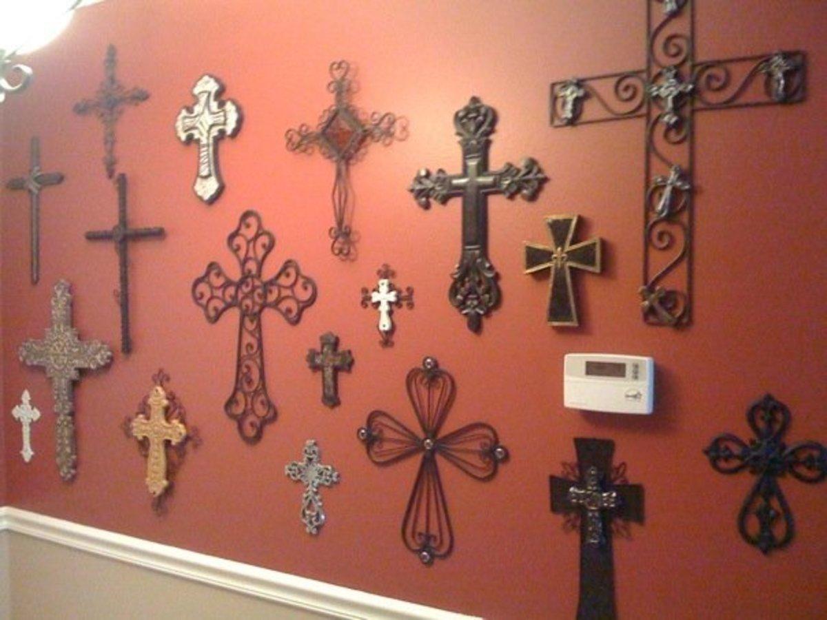 Beautiful Cross Wall