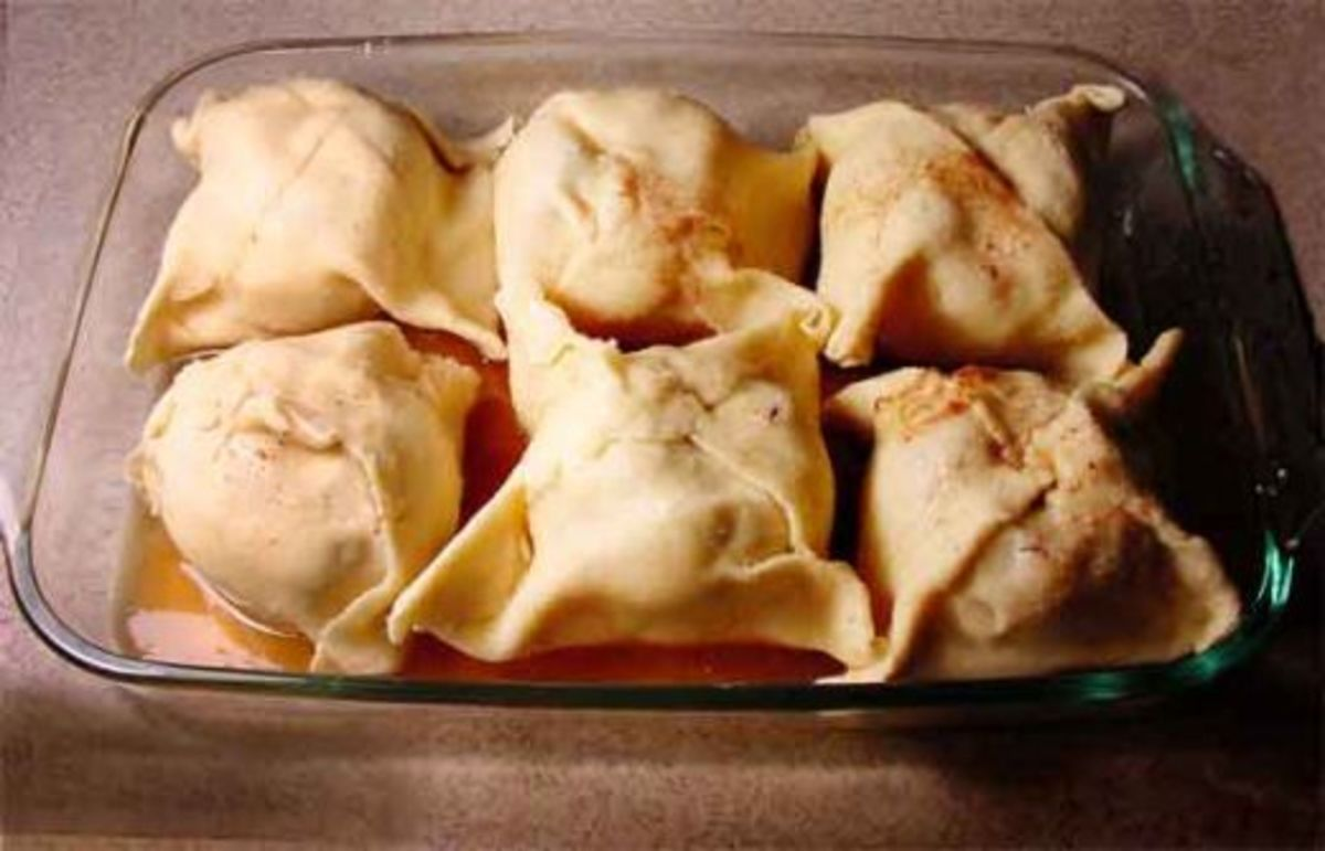 Apple Dumplings made homemade are so very delicious. If you want a wonderful recipe for Apple Dumplings be sure to check out this recipe.