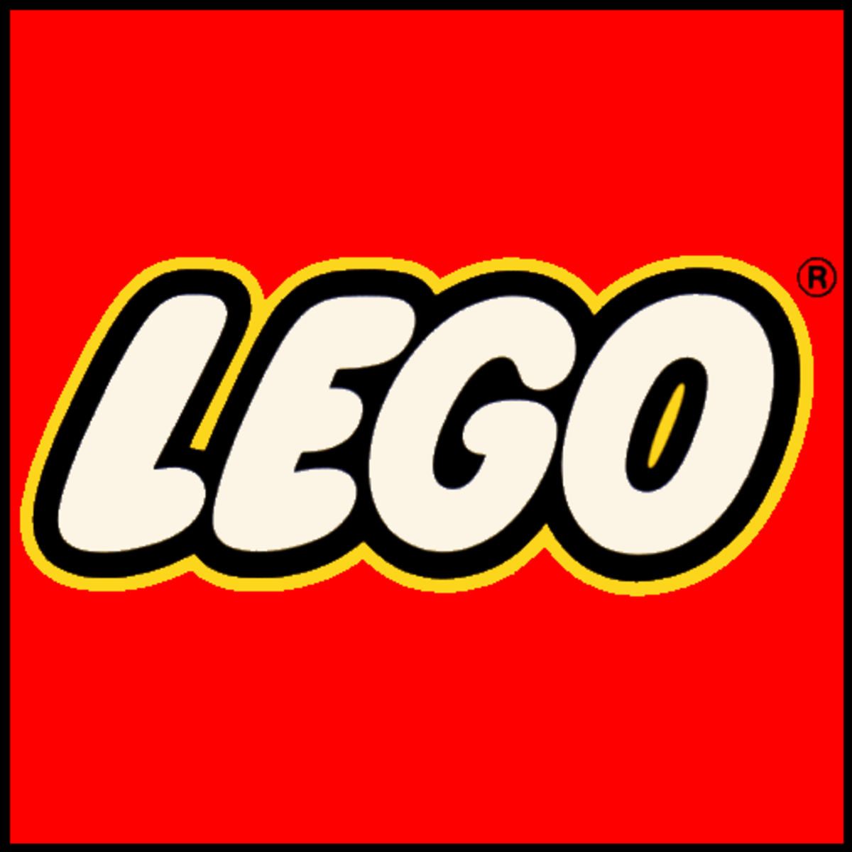 Current Modern LEGO logo