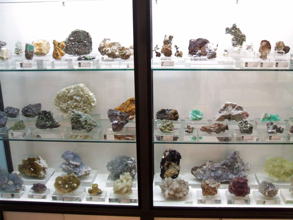 Mineral and gemstone collection