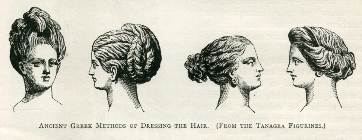 Ancient Greek hair styling also used flat irons.