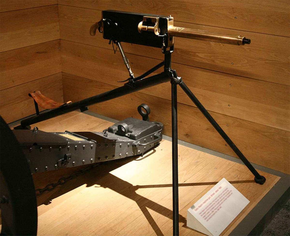 A Maxim Gun.