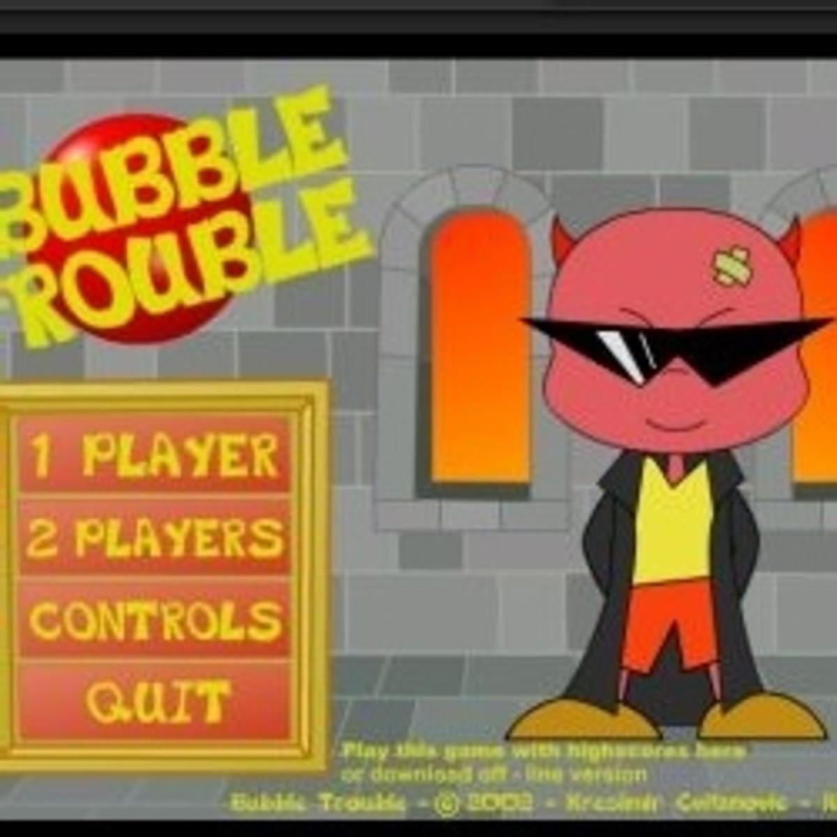 bubble trouble play online full screen miniclip