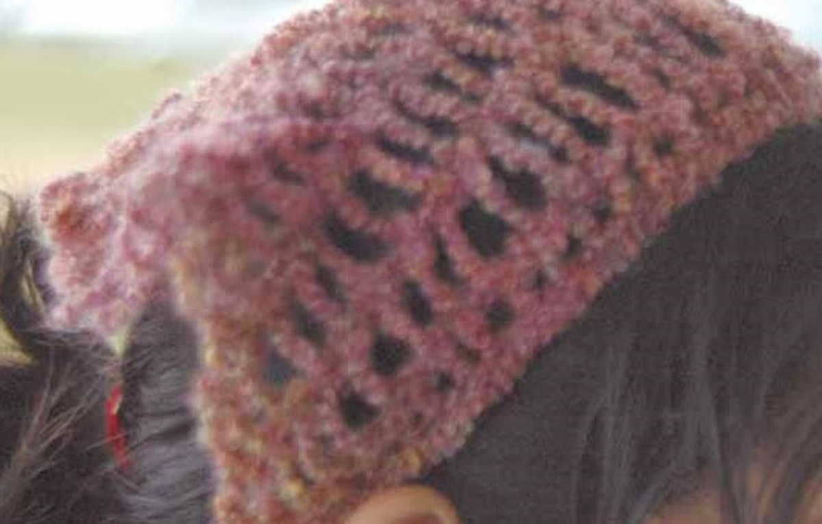 Child's Scarf Hat