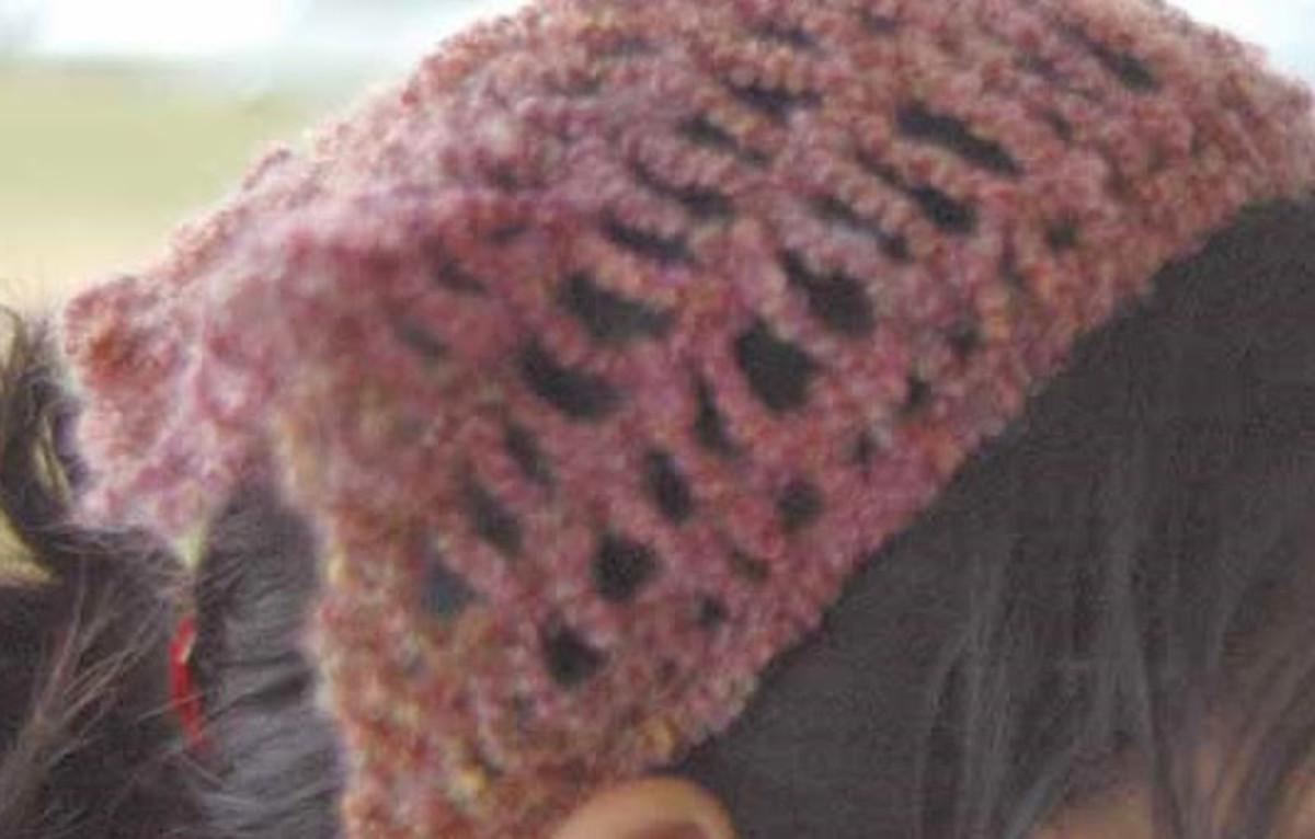 Child's Scarf Hat