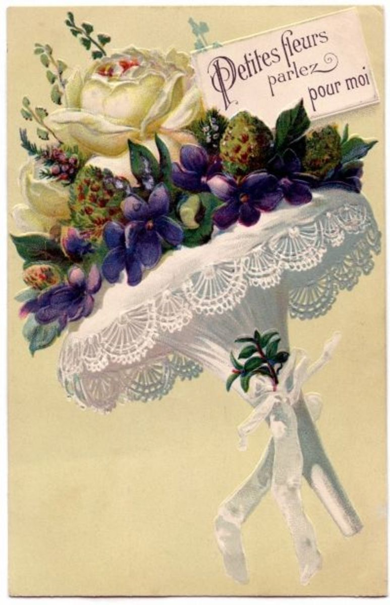 Victorian Tussy Mussy