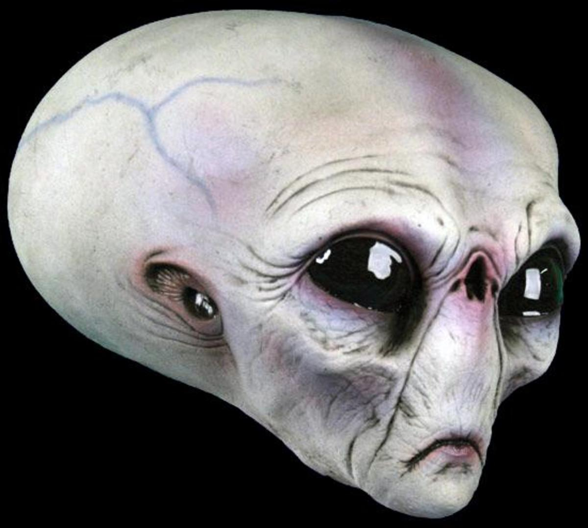 Roswell Alien mask...