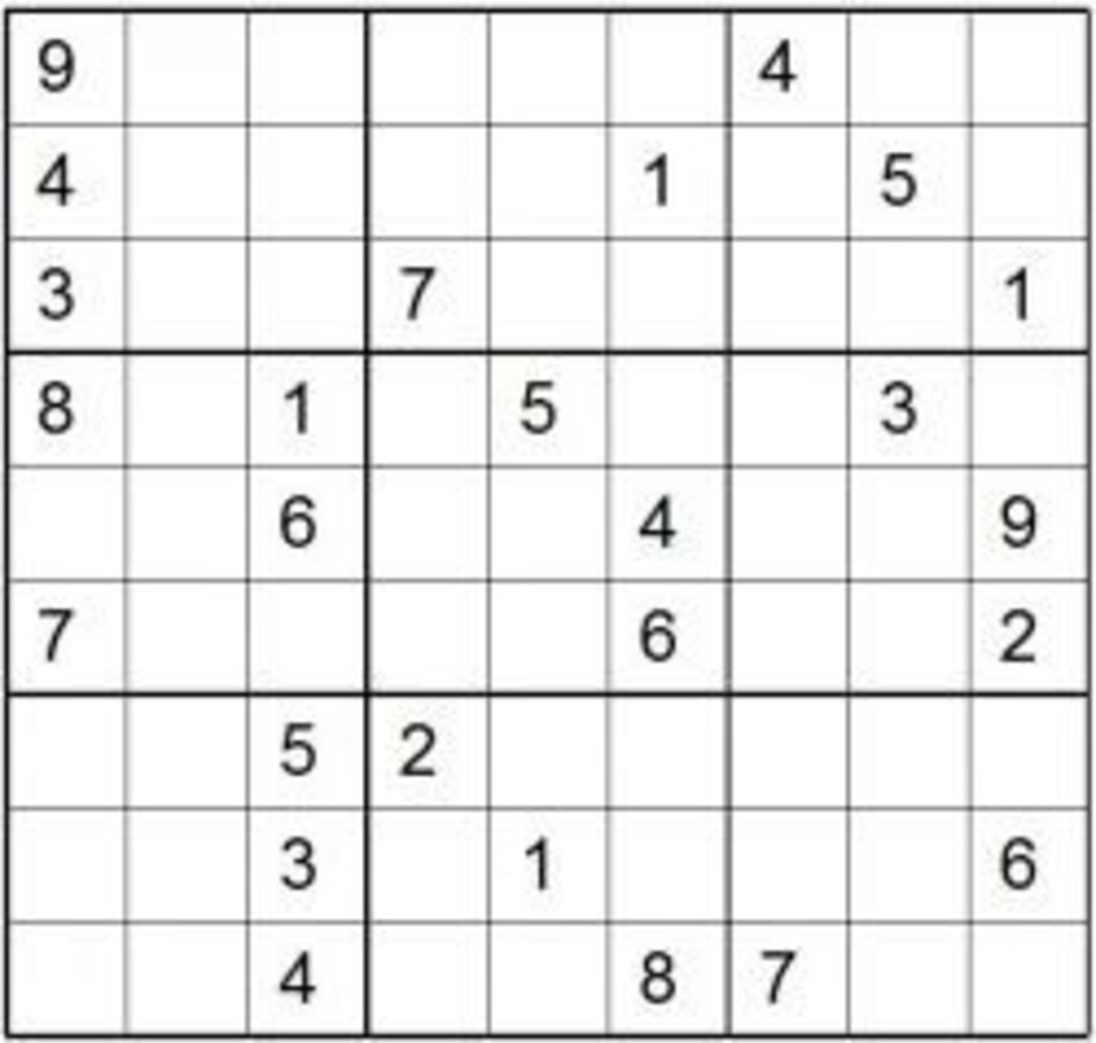 photo about Printable Sudoku Puzzles Medium titled Print Sudoku Puzzles HubPages