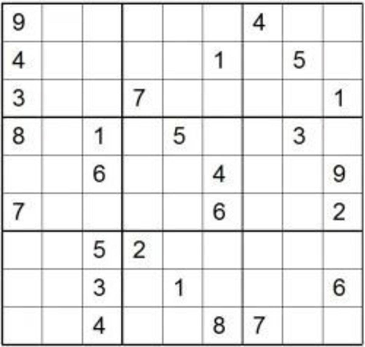 Print Sudoku Puzzles