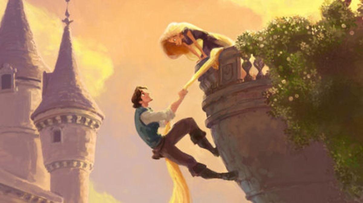 Disney Tangled Rapunzel