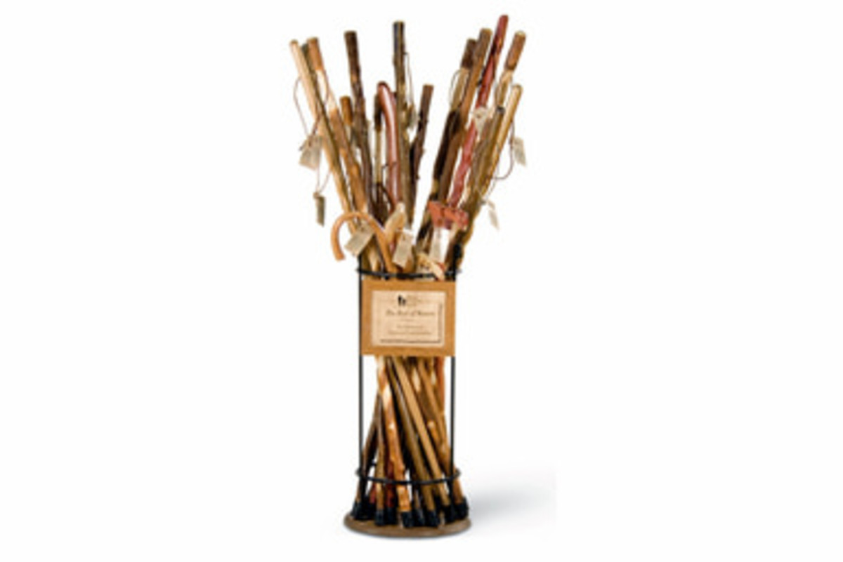 Beautiful walking sticks add to your health as well as your identity and can feel a part of the family.