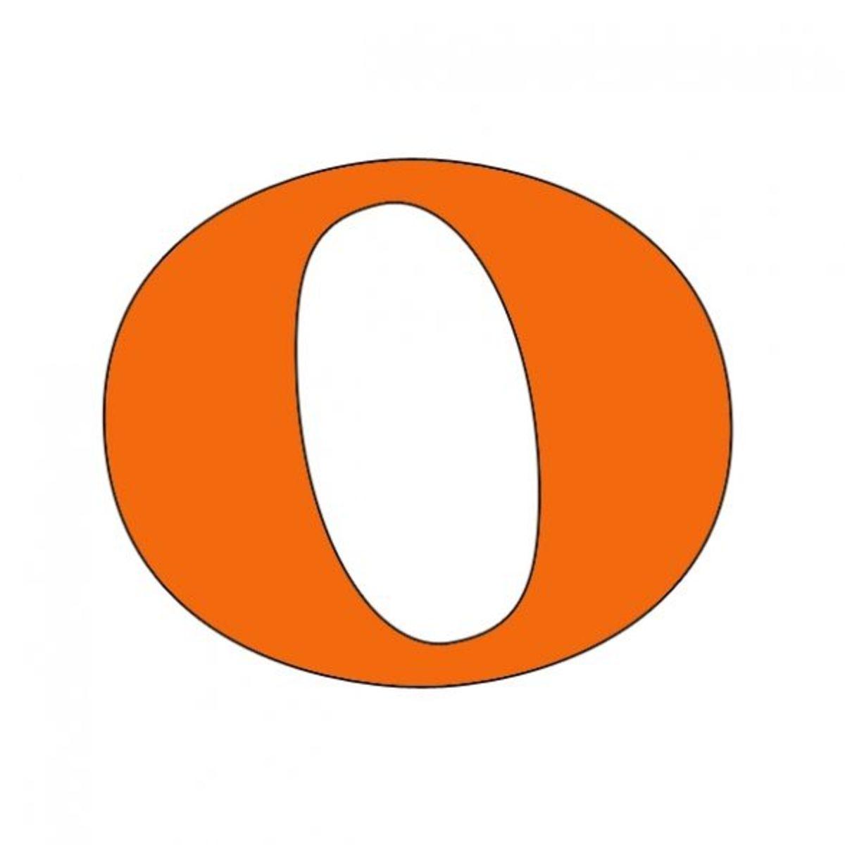 Orange Whole Note