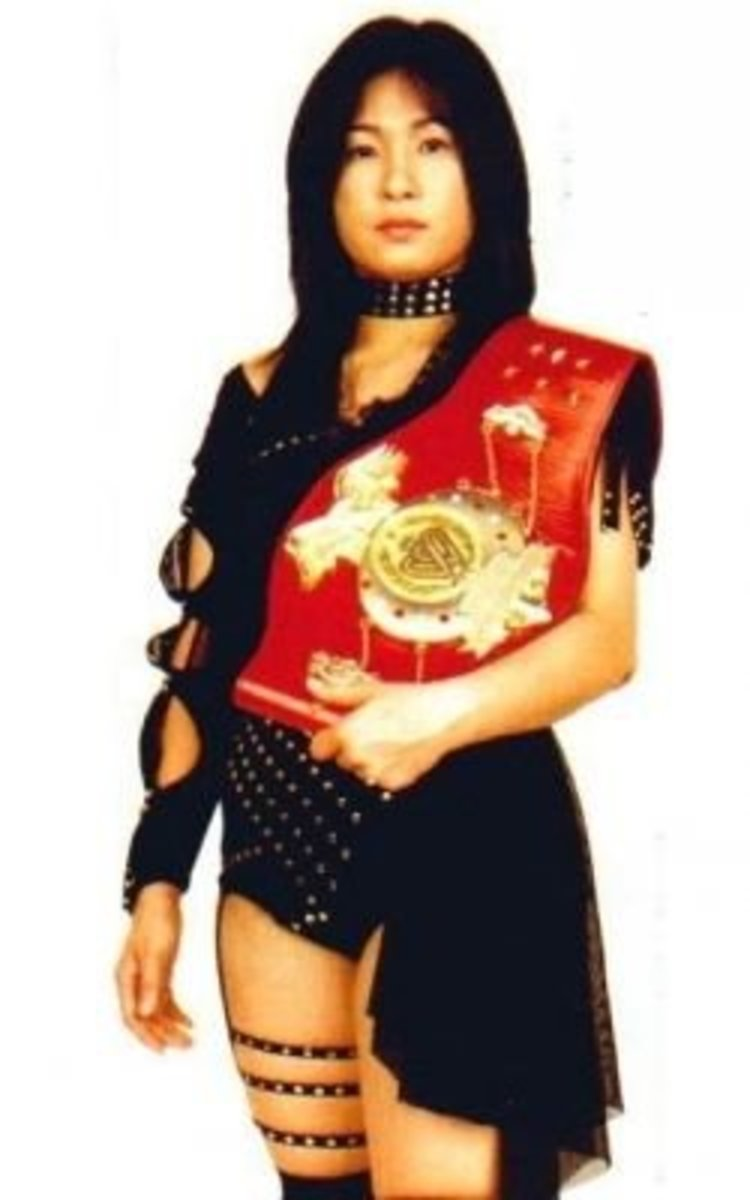 Manami Toyota-japan women wrestling