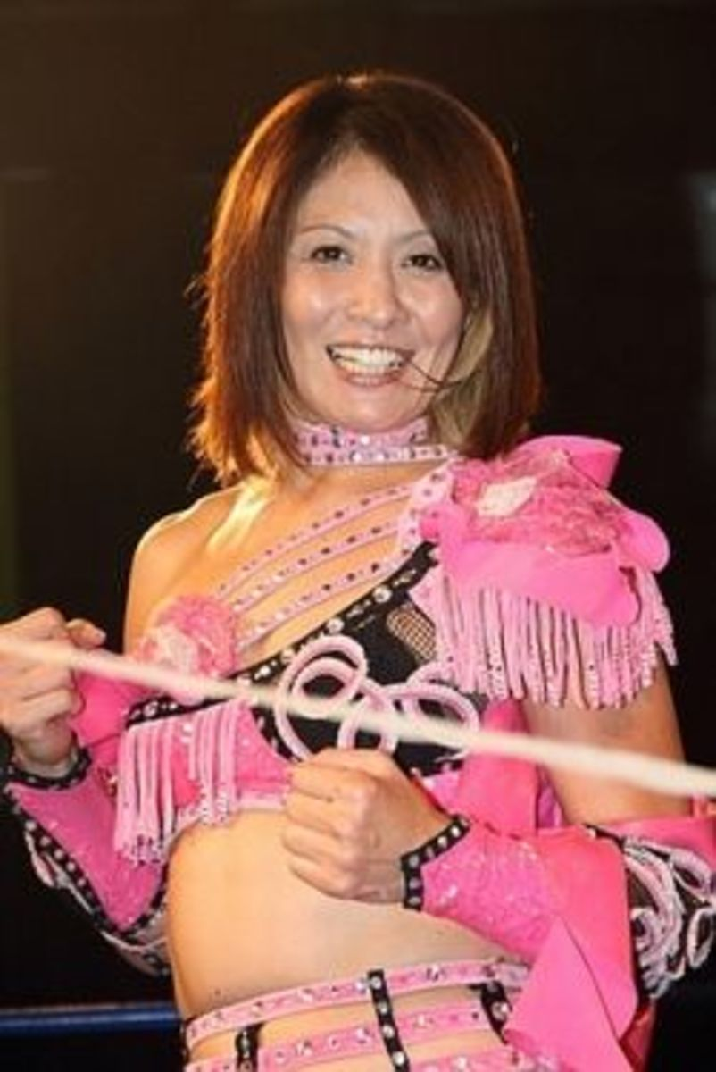 Mima Shimoda-female japanese wrestling