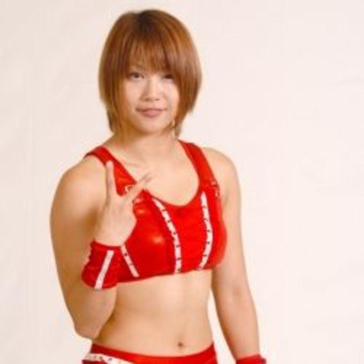 Ayumi Kurihara-japan female wrestling