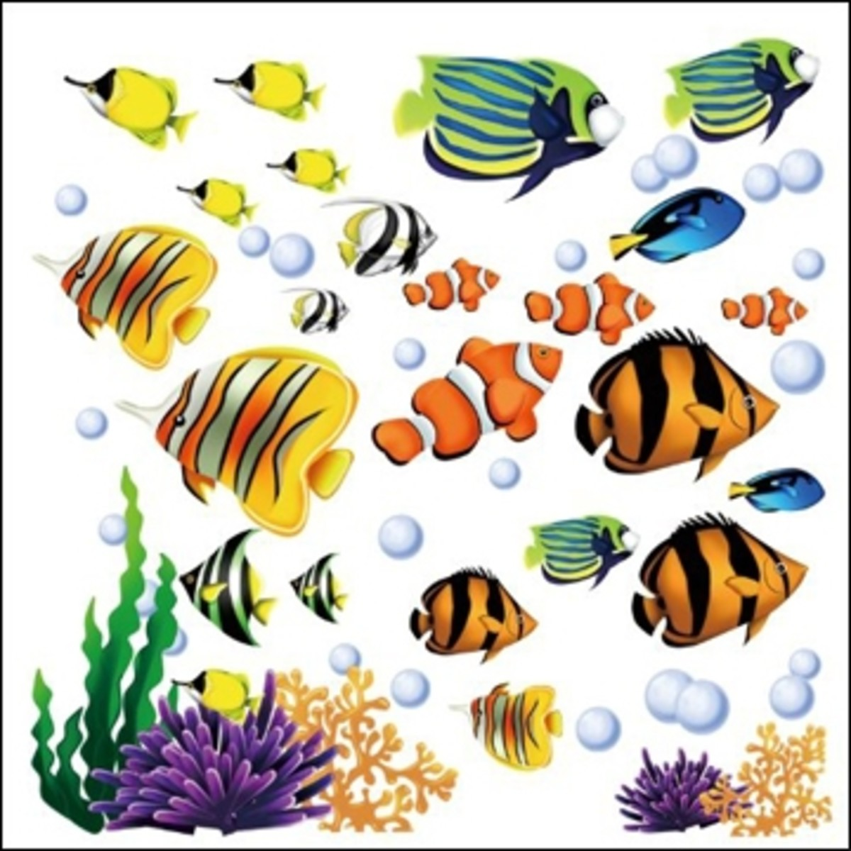 Tropical Fish Coloring Page Hubpages