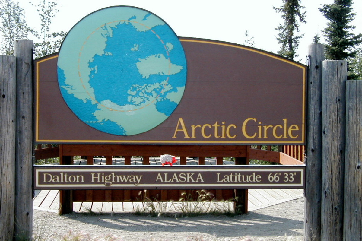Crossing the Arctic Circle ...a faraway place you can drive to from the U.S. or Canada