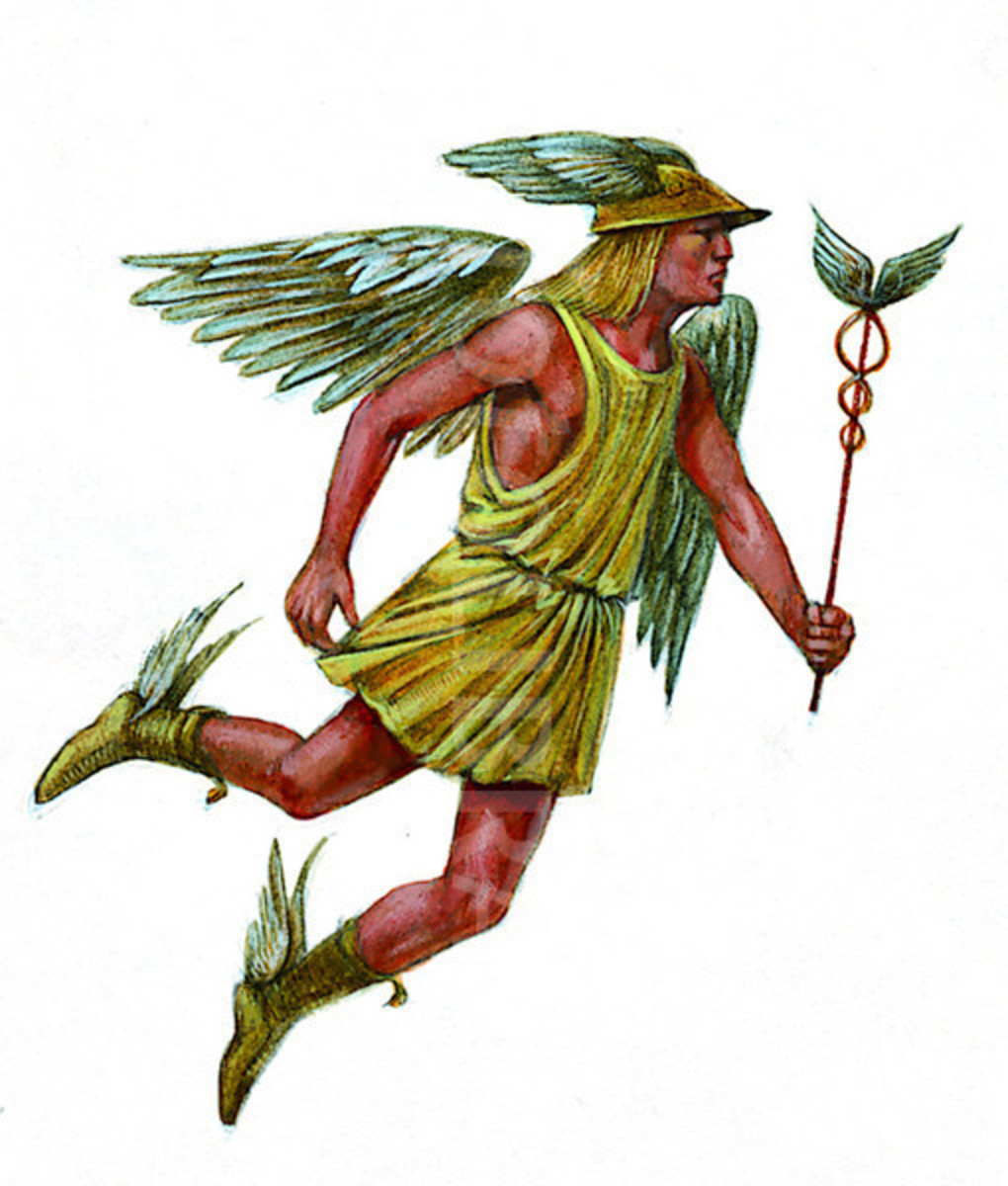 Roman God Mercury - The Messenger God