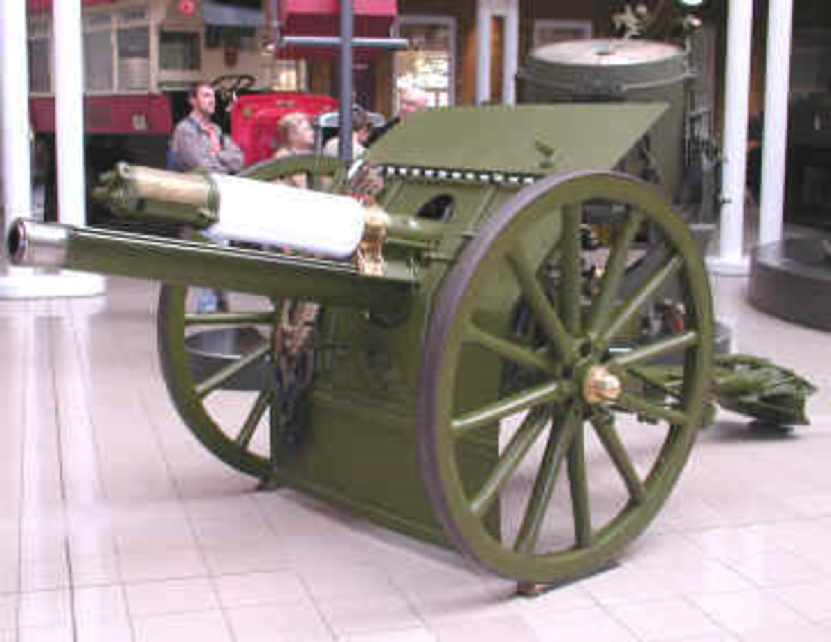 World One War: Quick Firing 18 Pounder