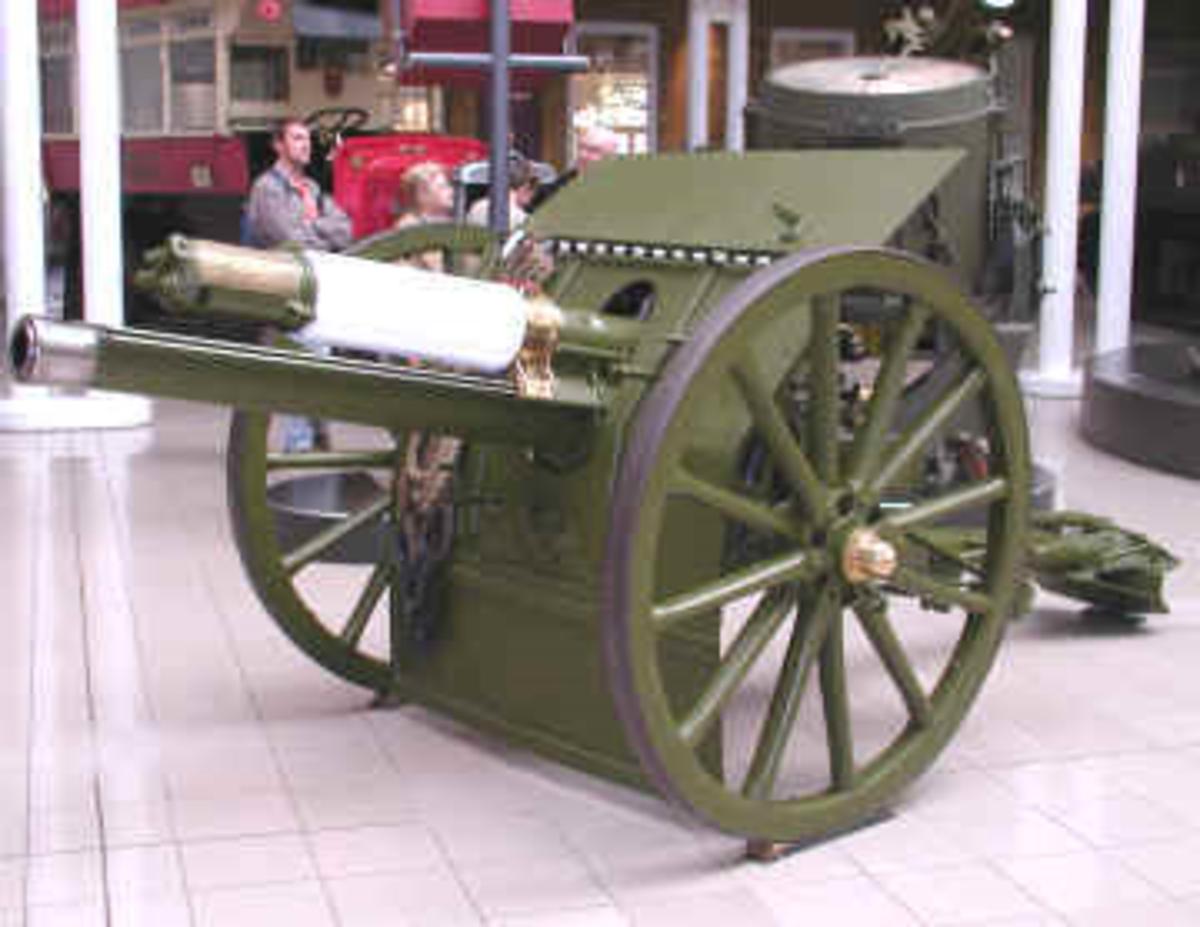 World One War: Quick Firing 18 Pounder