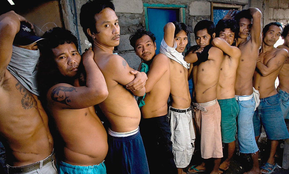 "Philipines Kidney Donors Picture Courtesy of  Richard Jones/sinopix"""