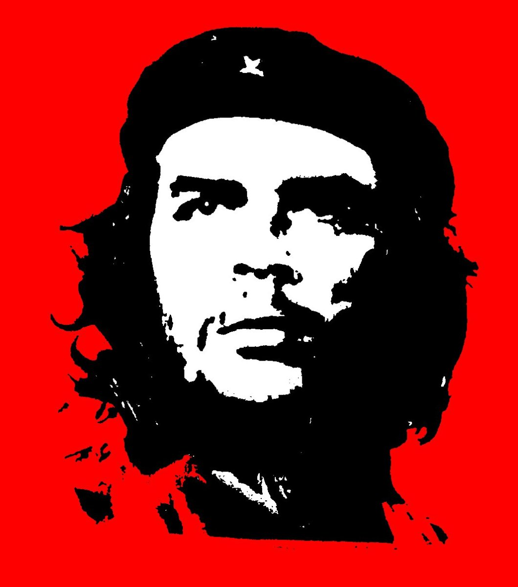 POPULAR IMAGE FOR AMERICAN LEFTISTS ON POSTERS AND TSHIRTS OF CHE GUEVARA
