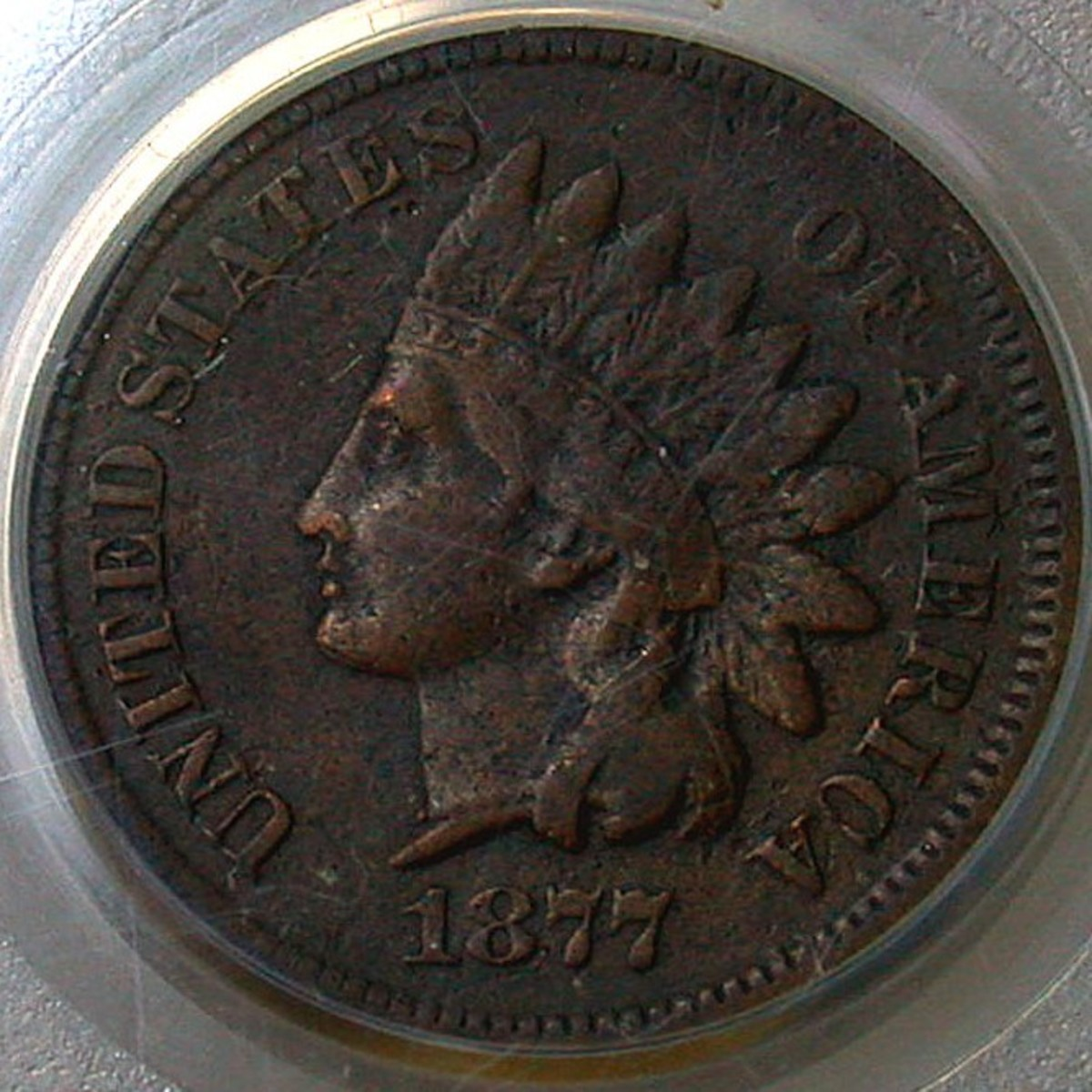 Extremely Rare 1877 Indian Head Penny. Photo Courtesy Coinpage.com