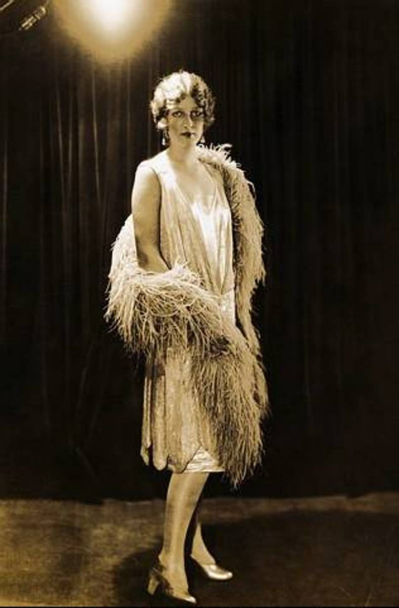 As the 1920s progressed, hemlines became shorter.