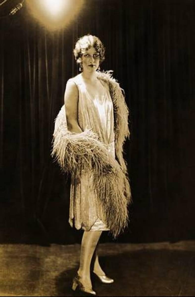 As the 1920s progressed, hemlines became shorter.